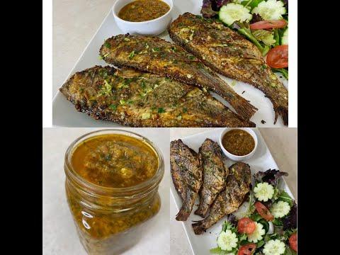 how-i-fry-fish-using-my-oven-air-fryer.....comment-je-fais-frire-du-poisson-à-l'aide-de-ma-friteuse