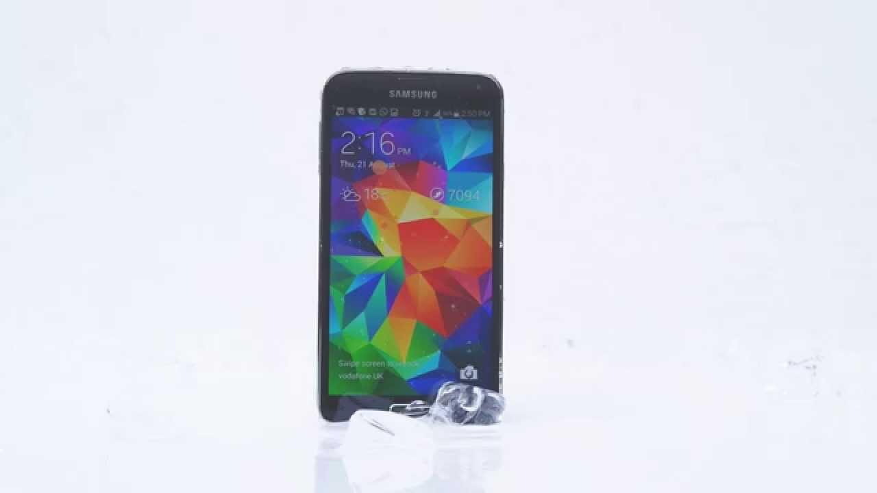 Publicité Samsung Galaxy S5 – ALS Ice Bucket Challenge