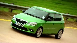 Breaking 5 Speed Records In A Skoda Fabia Fifth Gear смотреть