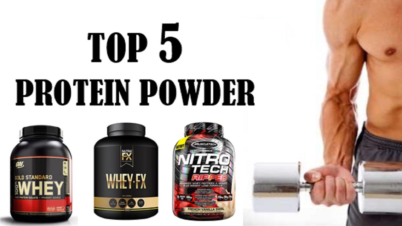 Top 5 Protein Powder In 2017 Top 5 Protein Powder Reviews Best