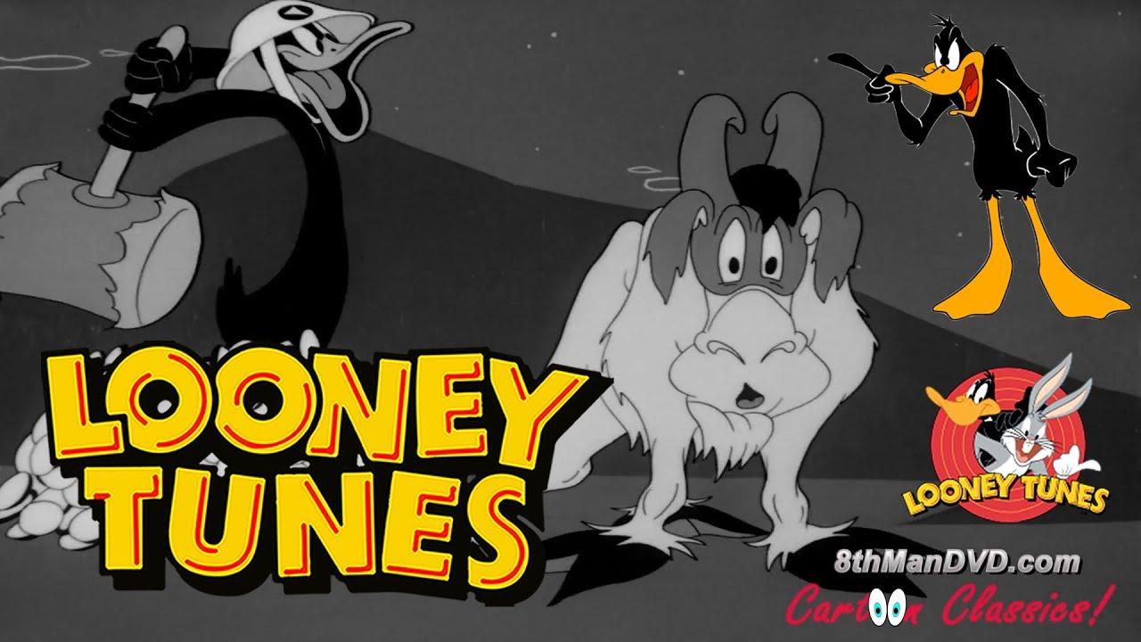 LOONEY TUNES (Looney Toons):  DAFFY DUCK - Scrap Happy Daffy (1943) (Remastered) (HD 1080p)