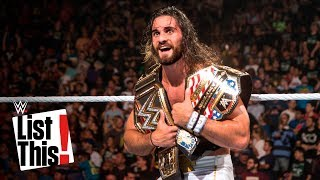5 things that only Seth Rollins has done: WWE List This!