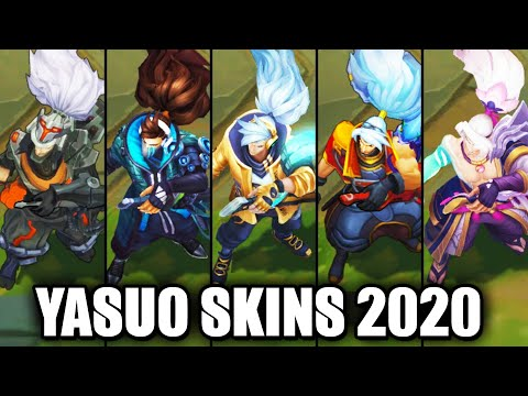 All Yasuo Skins Spotlight 2020 - Prestige True Damage Latest Skin (League of Legends)