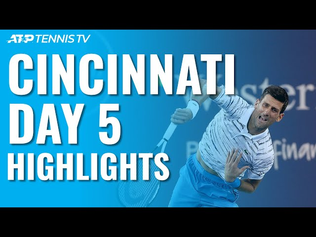 Djokovic Sets Medvedev Clash ; Gasquet To Face Goffin | Cincinnati 2019 Quarter-Final Highlights