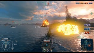 World of Warships Gameplay (PC)
