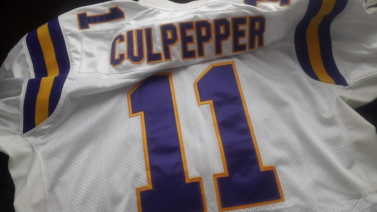a5e3dc531 Daunte Culpepper - Minnesota Vikings Jersey - YouTube