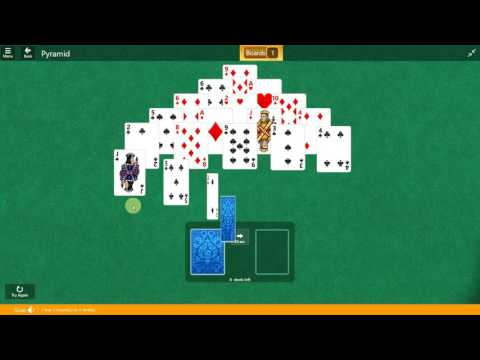 Microsoft Solitaire Collection - Pyramid - February 17 2017