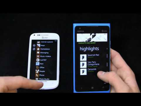 Samsung Focus 2 vs. Nokia Lumia 900 Dogfight Part 2