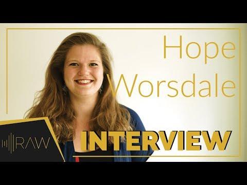 Hope Worsdale (President)   RAW Interviews