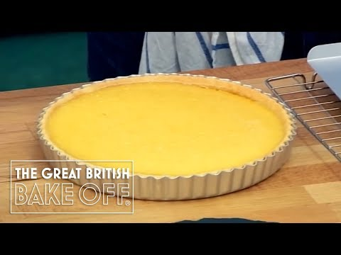 Finishing and Serving the Lemon Tart - The Great British Bake Off