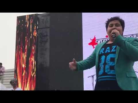 Dhroon Tikku performing live at JLT, Dubai,  UAE