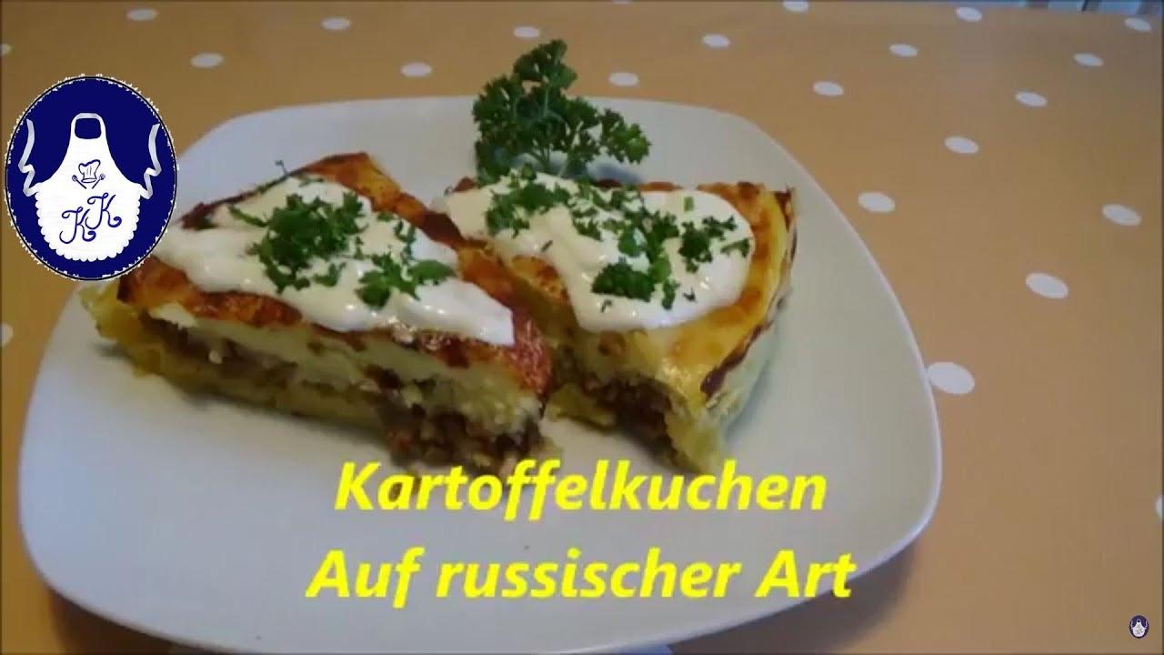 Kartoffelkuchen nach Russische Art - YouTube