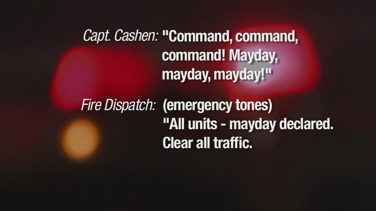 Mayday call evokes sudden response from firefighter