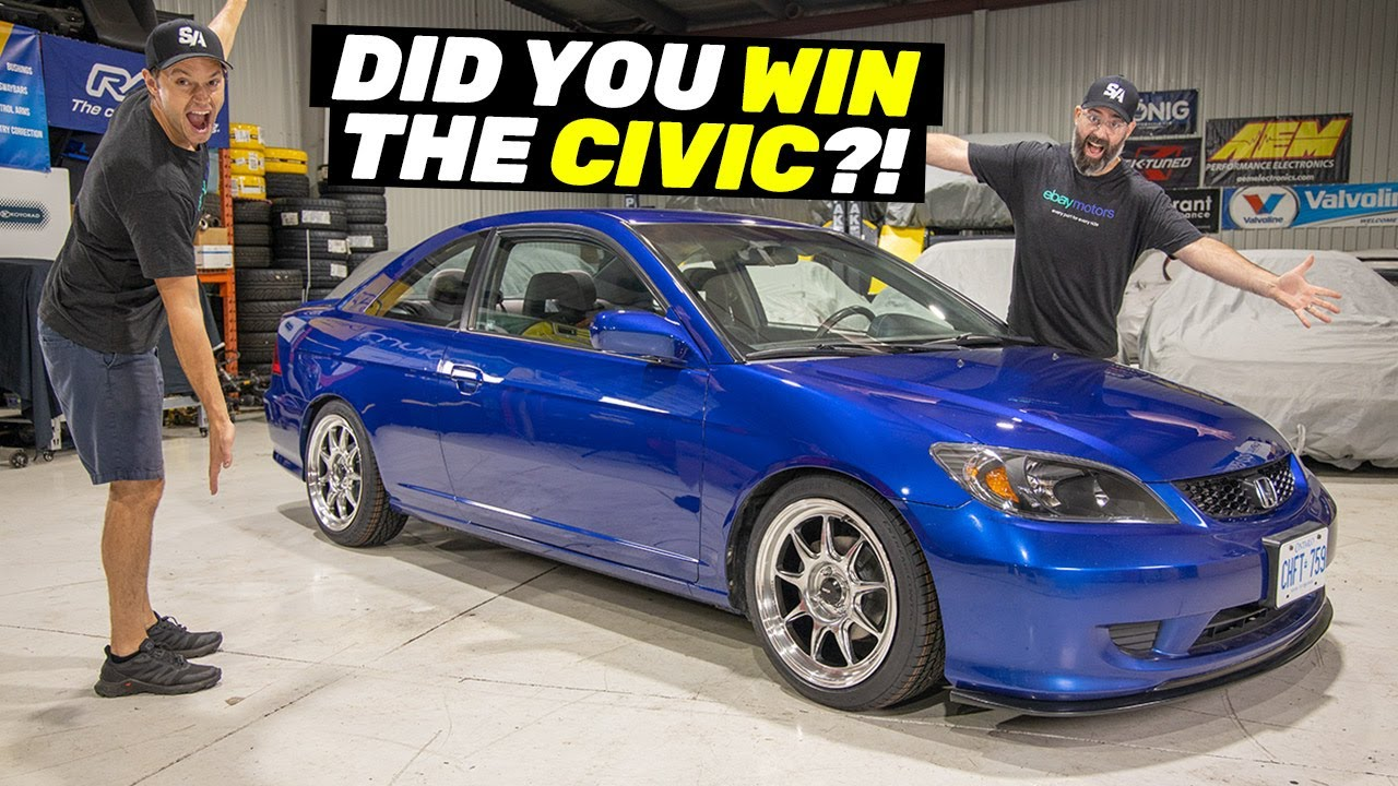 CIVIC GIVEAWAY - Who Won?!