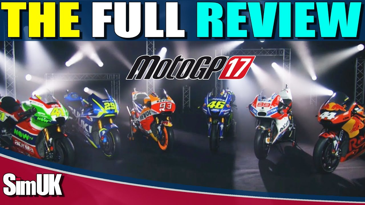 MotoGP 17 Full REVIEW | PC XBOX1 PS4 | Manager Career | MotoGP eSports Championship - YouTube