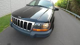 4K Review  2000 Jeep Grand Cherokee Laredo Virtual Test-Drive & Walk-around