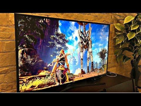 PS4 PRO Best Budget Samsung 4K UHD LED With HDR – Horizon Zero Dawn