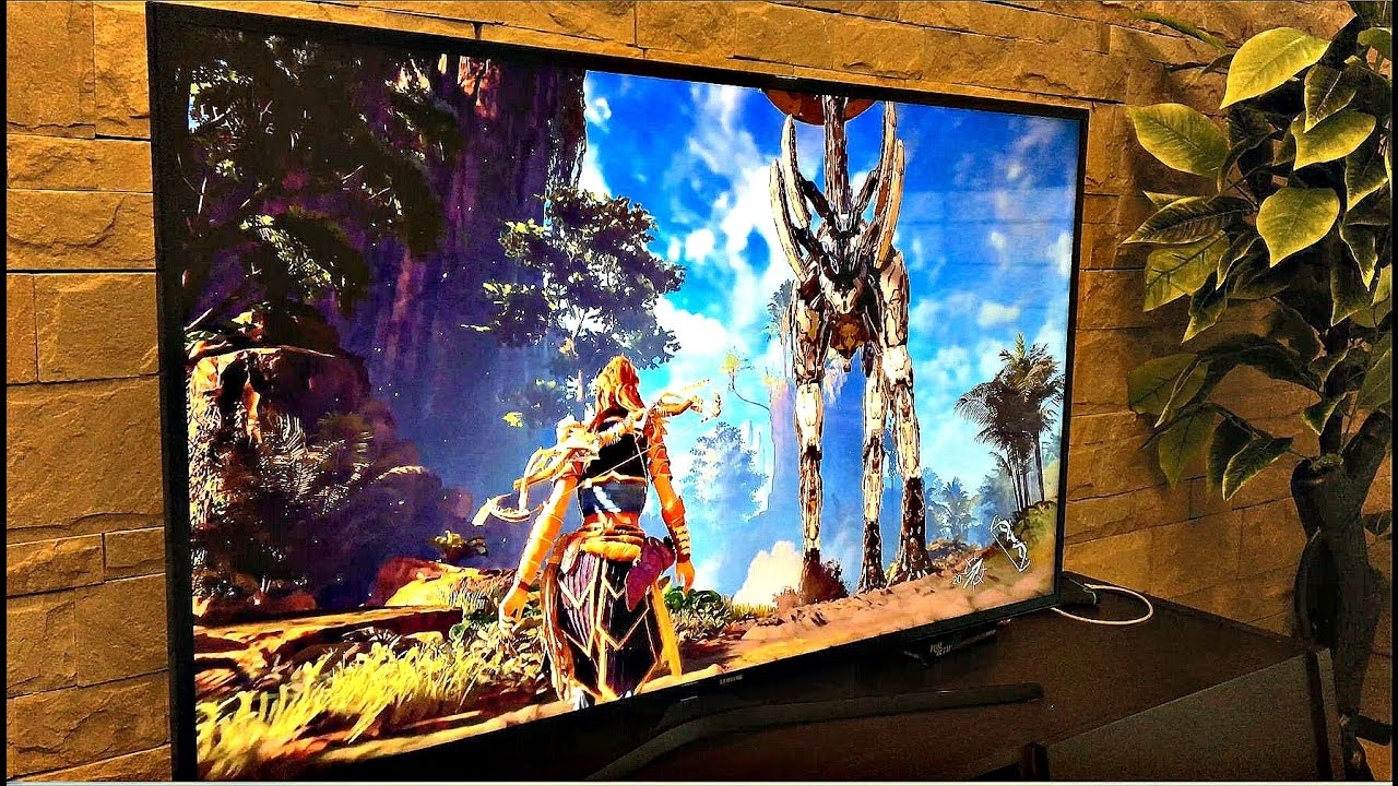 Ps4 Pro Best Budget Samsung 4k Uhd Led With Hdr Horizon