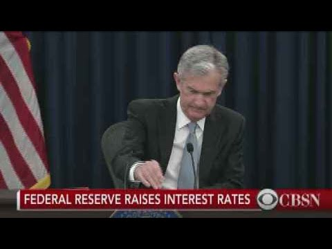 Federal Reserve raises interest rates to highest level since 2008