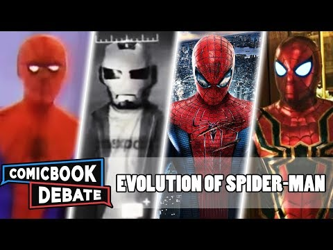 Evolution Of Spider-Man In Movies & TV In 16 Minutes (2019)
