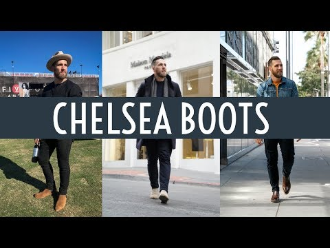 How to Style Chelsea Boots || Dressy & Casual || Mens Fashion Fall 2018 || Gents Lounge