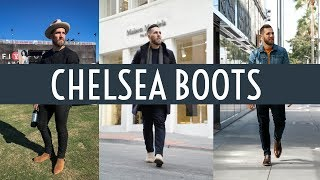 How to Style Chelsea Boots || Dressy & Casual || Men's Fashion Fall 2018 || Gent's Lounge