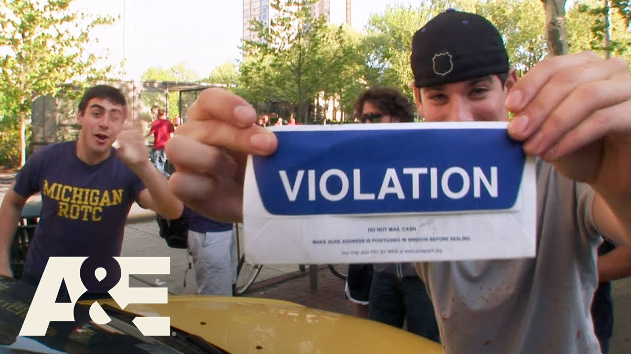 Parking Wars: College Kids Getting Tickets - Top 5 Moments | A&E