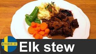 How to cook elk stew — Best homestead recipe Video
