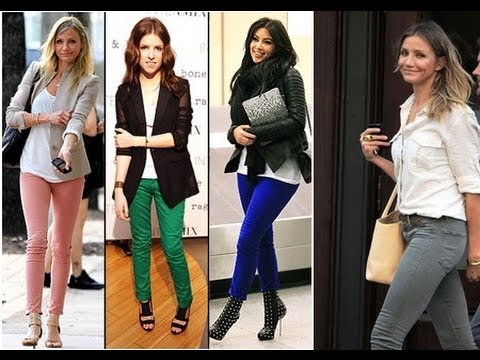 Fashion: 11 Fall Outfits with Skinny Jeans - YouTube