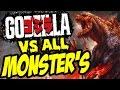 GODZILLA The Game Godzilla 2015 Vs. ALL MONSTERS UNLOCKED HD Godzilla the game