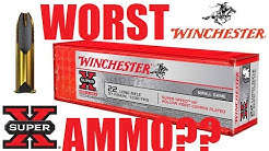 Winchester Super X WORST  22 AMMO EVER??
