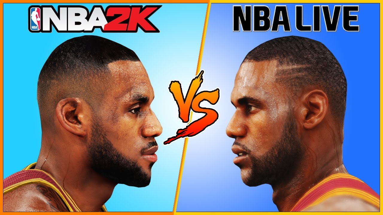 853f36e0e8d8 LeBRON JAMES NBA 2K vs NBA LIVE  2004 - 2017  🏀. Video Games Evolution