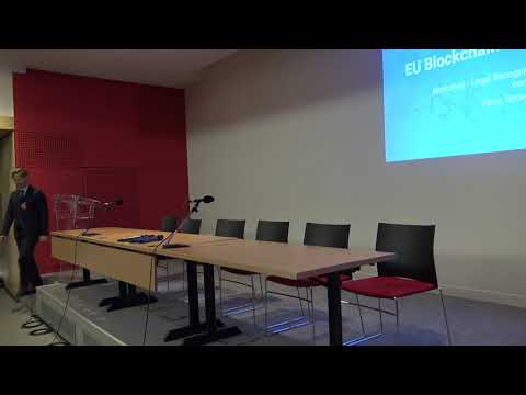 Legal Workshop, 12 December 2018, Paris Part 1 Introductions