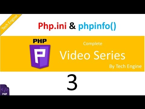Coding In Php (Hindi) -3. Php Info And Php.ini File Explanation.