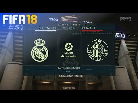 FIFA 18 - Real Madrid vs. Getafe CF @ Estadio Santiago Bernabéu