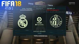 Download Video FIFA 18 - Real Madrid vs. Getafe CF @ Estadio Santiago Bernabéu MP3 3GP MP4