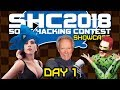 Johnny vs. Sonic Hacking Contest 2018 (Day 1)