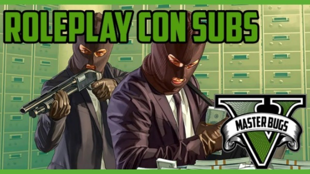 ROLEPLAY CON SUBS #3 | GTA 5 | PS4 |