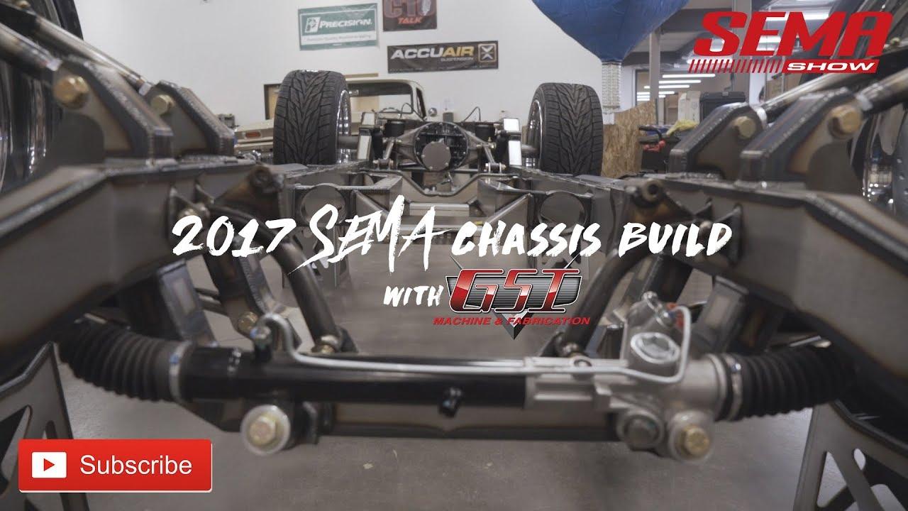 SEMA Chassis Build w/ GSI Machine & Fabrication - YouTube