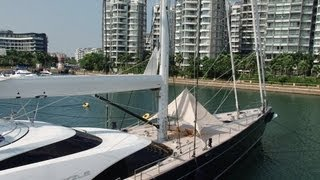 Twizzle Sailing Yacht - Superyacht TV (All Aboard!)