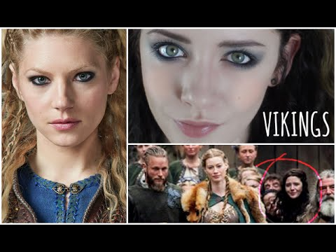 VIKINGS Inspired Makeup Tutorial Amp Being In The Show