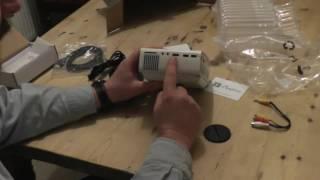 ELEPHAS 1200 Lumens LED Mini Projector