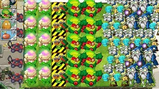 Plants vs Zombies 2 MAX Epic Quest Caulipower Premium Plants - Hypno Plants in PVZ 2 Gameplay