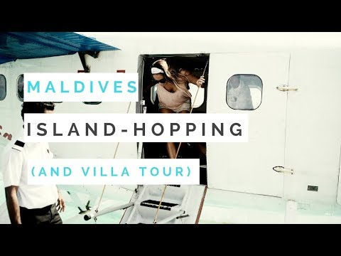 Maldives Island Hopping (and Overwater Villa Tour)