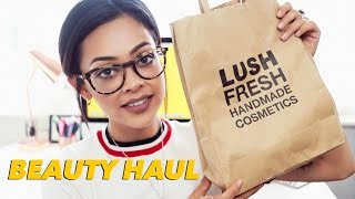 BOOTS, SUPERDRUG & LUSH HAUL | MAKEUP, SKINCARE, & MORE