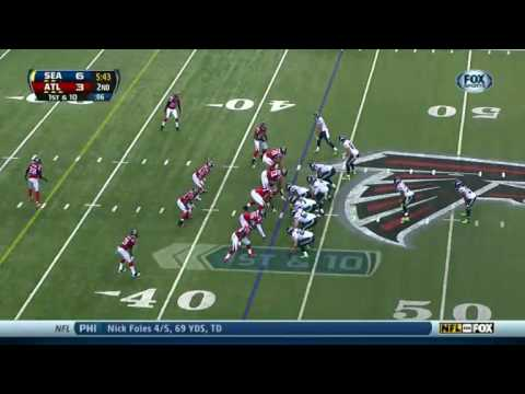 Seahawks vs Falcons 2013 Highlights
