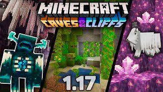 CAVES & CLIFFS UPDATE - Minecraft 1.17 [CZ/SK]