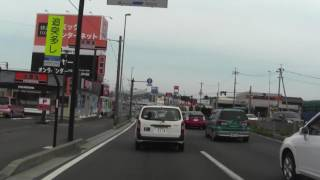 国道4号 福島県(道の駅安達)~宮城県仙台市