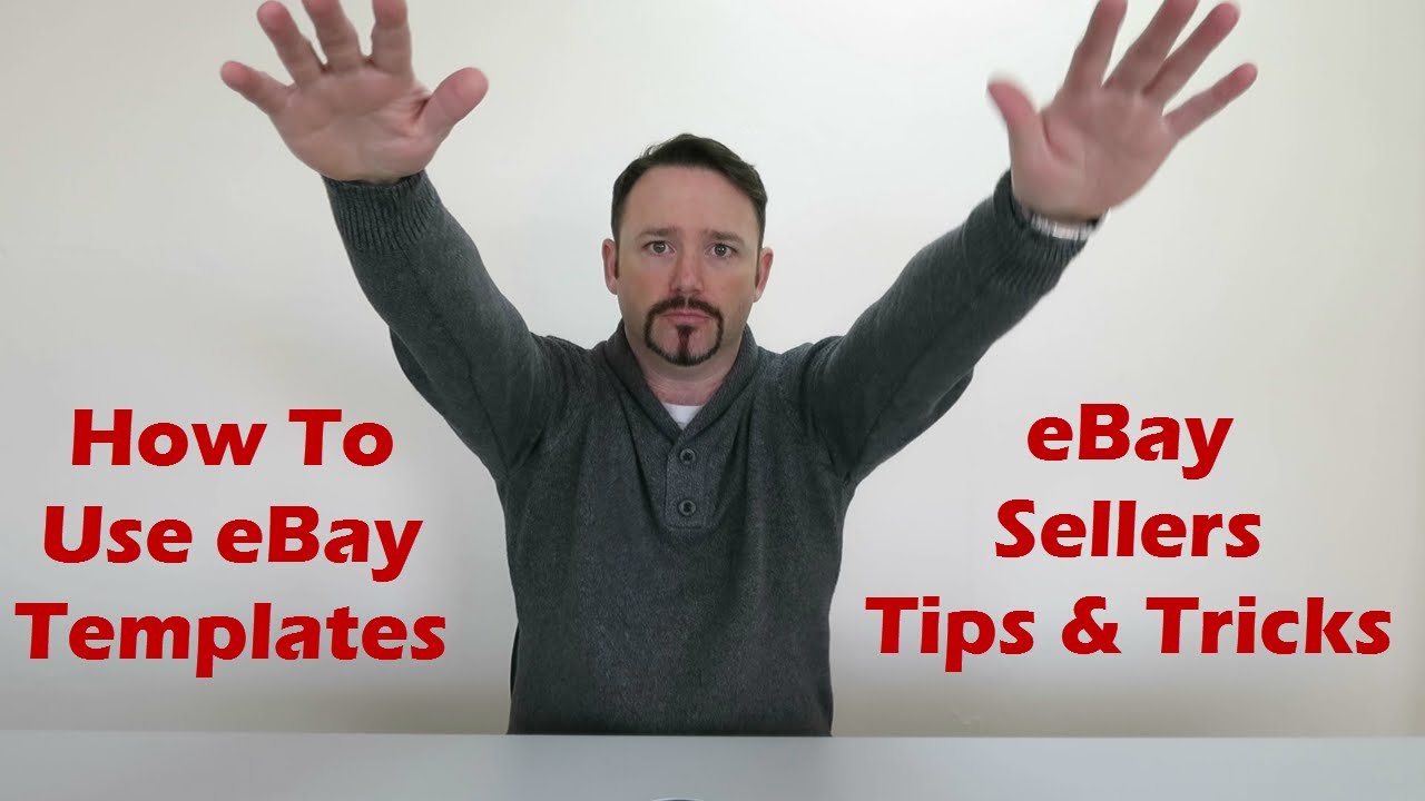 How to Use eBay Templates | eBay Sellers Tips and Tricks