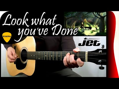 LOOK WHAT YOU'VE DONE 💔 - Jet / GUITAR Cover / MusikMan #144